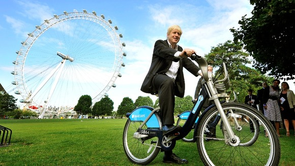 London Mayor Boris Johnson.