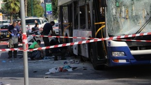 Return of the bus bomb has struck terror into the heart of Tel Aviv