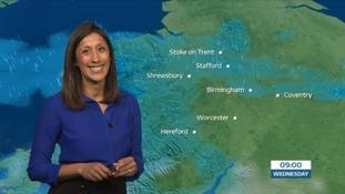 West Midlands weather: Wet and breezy