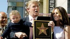 Man who smashed up Trump Hollywood star avoids jail