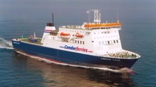 Ferry delayed after harbour bomb find