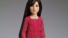 The toy is billed as the 'world's first transgender doll'.