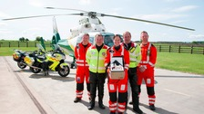 'Lives saved' in Air Ambulance plasma trial