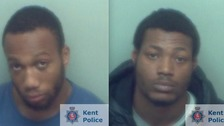 Two men jailed after cocaine found hidden in gutter