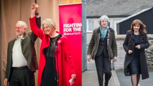 Jeremy Corbyn and Theresa May have both been on the campaign trail.
