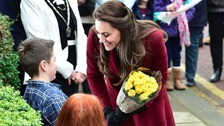 Duchess of Cambridge visits child mental health projects