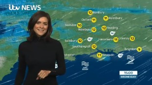 Wednesday's lunchtime weather for the west of the region
