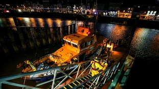 Whitby and Staithes lifeboats launched to rescue yacht