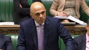 Sajid Javid: Businesses facing steep rate rises will get help in Budget