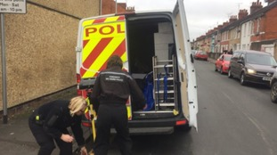 More evidence bags taken from former home of double murderer Christopher Halliwell