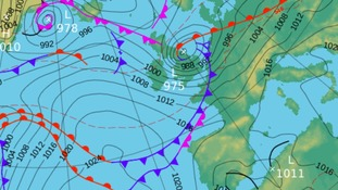 Weather: Stormy weather on the way