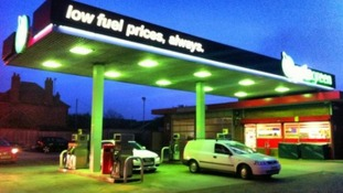 Bicester petrol station