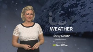 Stormy conditions sweep in overnight
