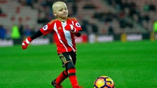 "Bradley Lowery's mother tells ITV Tyne Tees his family are ""absolutely devastated"" the five year old has another tumour"