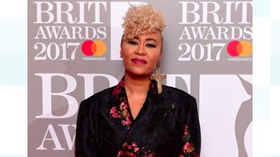 Sunderland born Emeli Sande wins British Female Solo Artist at the Brit Awards