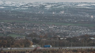 The M62 between Manchester and Leeds could be badly hit