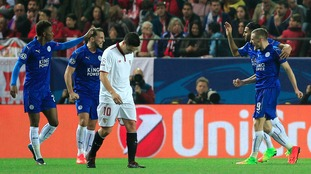 Champions League match report: Sevilla 2-1 Leicester