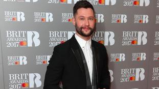 Calum Scott at the Brit Awards.