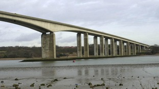 The Orwell Bridge near Ipswich is likely to close on Thursday due to Storm Doris.