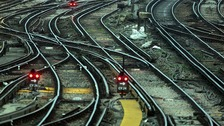 Trains are expected to be delays as speed restrictions are imposed.