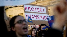 Trump scraps bathroom protection for transgender students