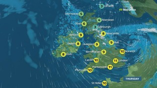 Weather: Storm Doris to bring severe weather across much of UK