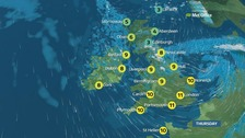 Weather: Storm Doris to bring severe weather across UK