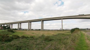 The Orwell Bridge is expected to be closed later.