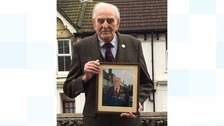 War medals stolen from WW2 veteran