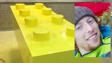 Family celebrates life of young man with Lego coffin