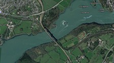 A55 Britannia Bridge