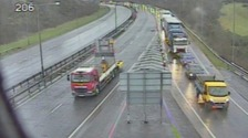 A55 Britannia Bridge closed