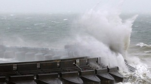 Flights cancelled as Storm Doris hits UK with winds of 90mph