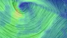 Storm Doris strikes disrupting road, rail and air travel