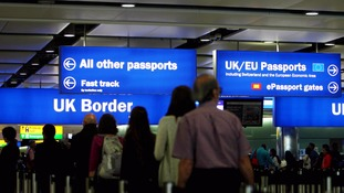 Thursday's figures show there are as many people coming to the UK from outside the EU as from within it.