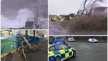 Thousands left without power as Storm Doris batters Wales