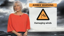 Wales weather: Storm Doris brings 94 mph winds!