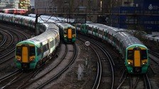Southern ran 87% of trains during yesterday's strike