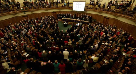 The Church of England&#x27;s General Synod in Church House