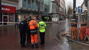 Storm Doris: Woman killed by falling debris