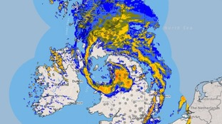 Storm Doris: Wild weather felt across the North East