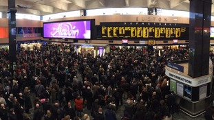 Storm Doris sparks rush hour rail chaos in London