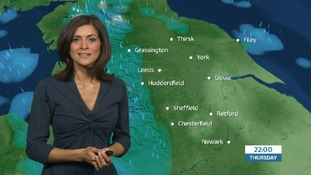 Late weather update with Lucy Verasamy