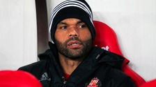 Sunderland's Joleon Lescott before the Premier League match at the Stadium of Light