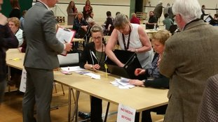 Copeland by-election: Votes being verified