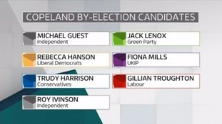 The full list of candidates.