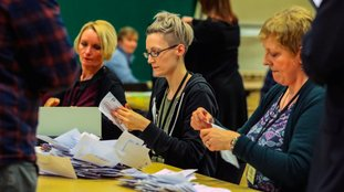 Counting is due to get underway.