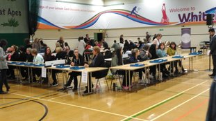 Counting is now underway.