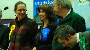 Trudy Harrison beat her Labour rival.