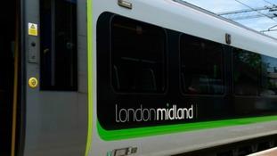London Midland service suspended